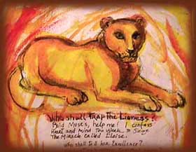 Picture of Mary Holmes's Lion